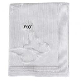 Paturica din Bumbac, Eko, 80x100 cm, Fluturasi, White