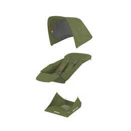 Set Materiale Textile Greentom Reversible, Olive