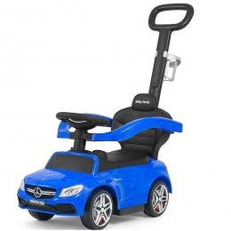 Masinuta copii 3 in 1 Mercedes AMG C63 Blue