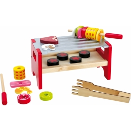 Poftiti la gratar, joc de rol din lemn