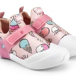 Pantofi Fete Bibi 2WAY Ice Cream