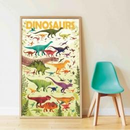 Joc creativ cu stickere Dinozauri, POPPIK