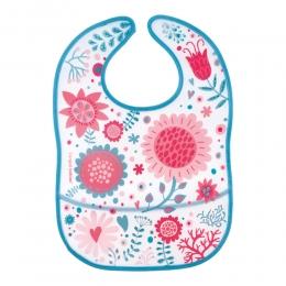 "Baveta ""Wild Nature"", Canpol babies, fara BPA, roz"