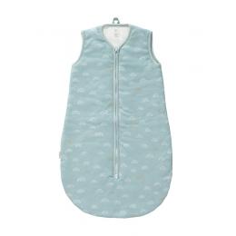 Sac de dormit gros, model Rainbow blue, 90 cm