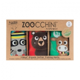 Set 3 Chilotei Antrenament, Zoocchini, Baiat, 2-3 ani, 100% Bumbac Organic, Forest