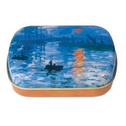 Cutiuta metalica Sunset Monet