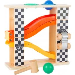 Traseu rollercoaster Formula 1 (cu ciocanel din lemn)
