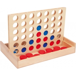 Joc logic 4 IN LINIE, 2 jucatori