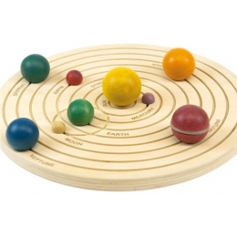 Sistemul solar 3D, joc educativ din lemn