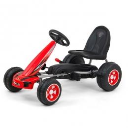 Kart cu pedale pentru copii, Viper Red