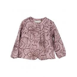 Jacheta cu model flori de padure