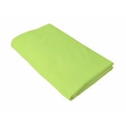 Cearceaf verde KidsDecor cu elastic patut copii 70x140 cm