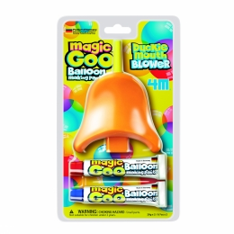 Magic Goo - Pasta de facut baloane cu suflatoare Cioc de Rata