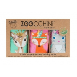 Set 3 Chilotei Antrenament, Zoocchini, Fetita, 3-4 ani, 100% Bumbac Organic, Princess