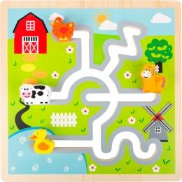 Puzzle Labirint Ferma