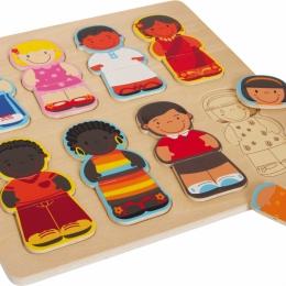 Puzzle copiii lumii