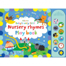 Usborne Baby's very first nursery rhymes playbook