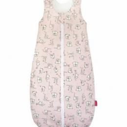 Sac de dormit KidsDecor vara 0.5 tog Loving bear pink 110 cm