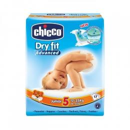 Scutece Chicco Dry Fit Advanced Junior, nr.5, 11-25kg, 17buc