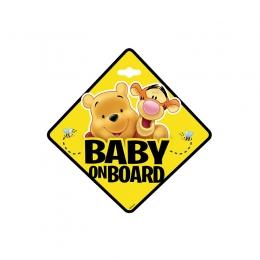 Baby la bord - Stiker Disney Winnie the pooh Seven