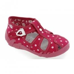Sandale Fetite, Rosu, marca RenBut, inchidere catarama