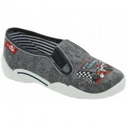 Pantofi Baieti, Gri, marca RenBut
