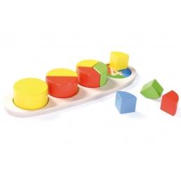 Puzzle educativ cercuri