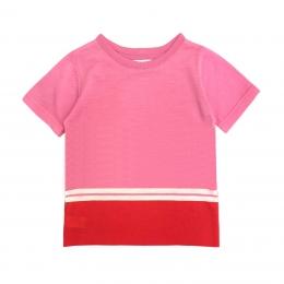 Tricou din lana merinos Pink Toffee