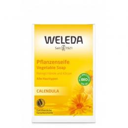 Baby sapun vegetal cu extract de galbenele, Weleda
