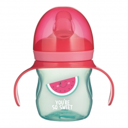 "Canita antrenament ""So Cool"", Canpol babies, 150 ml, roz"
