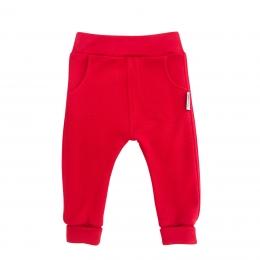 Pantaloni cu buzunare din lana merinos extrafina Red