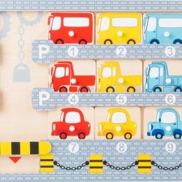 Puzzle parcarea de masini