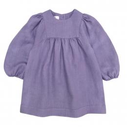 Rochie din in organic Lavender