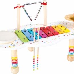 Masuta muzicala Bulinele colorate