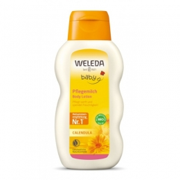 Baby lotiune de corp cu galbenele, Weleda