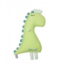 Perna jucarie Dinozaur personalizat prin broderie, Micul Curios