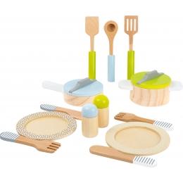 Set accesorii din lemn pentru bucatarie
