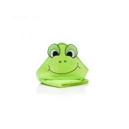 Prosop brodat Frog green 75x75 cm. Fillikid