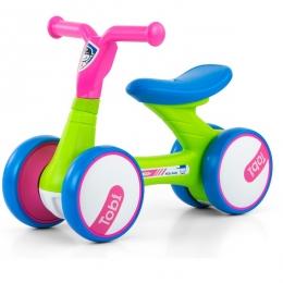 Bicicleta fara pedale, foarte usoara, Tobi Pink Green