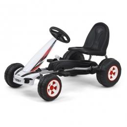 Kart cu pedale pentru copii, Viper White