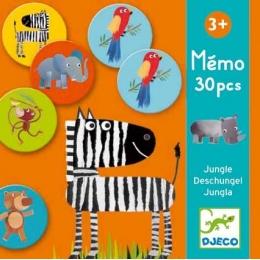 Joc memorie Djeco animale din jungla