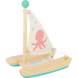 Jucarie Baie  – Barcuta Catamaran