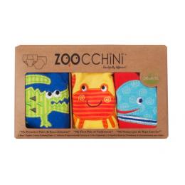 Set 3 Chilotei Antrenament, Zoocchini, Baiat, 3-4 ani, 100% Bumbac Organic, Ocean