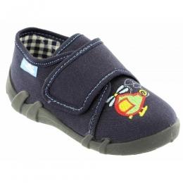 Pantofi Baieti, Albastru , inchidere velcro, marca RenBut