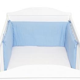 Protectie laterale pentru pat lemn Blue Fillikid