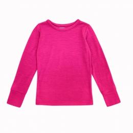Bluza din lana merinos Fuchsia