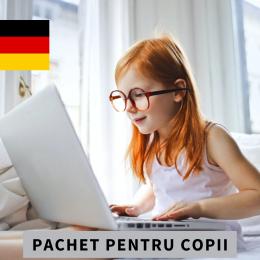CURS INDIVIDUAL ONLINE DE LIMBA GERMANĂ PENTRU COPII Pachet 10 şedinţe