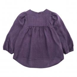 Bluza din in organic Dark Purple