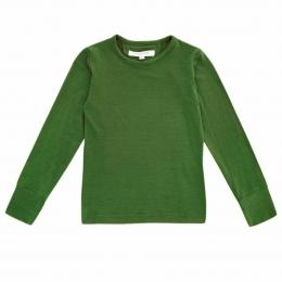 Bluza din lana merinos Dark Olive