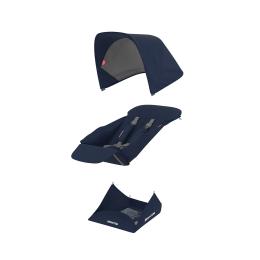 Set Materiale Textile Greentom Reversible, Blue